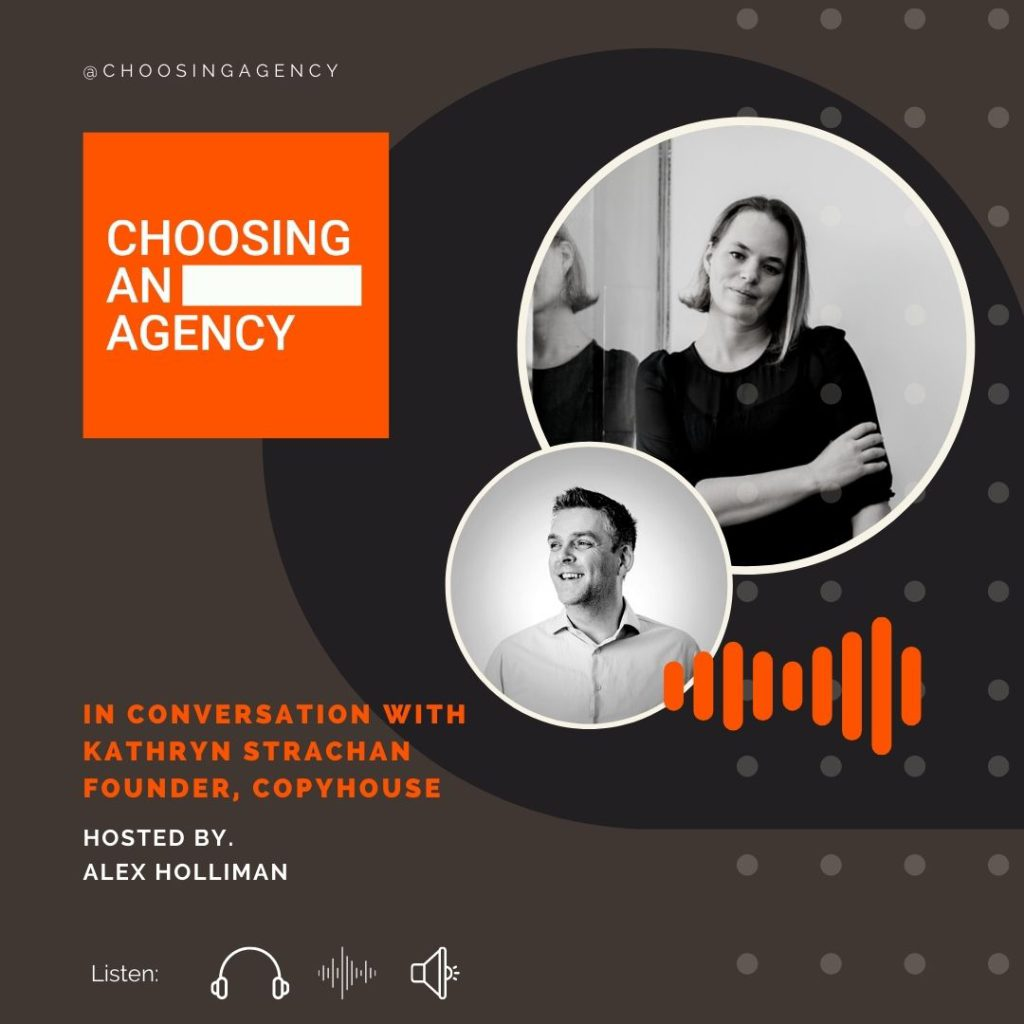 Episode Three, Choosing an Agency Podcast 1