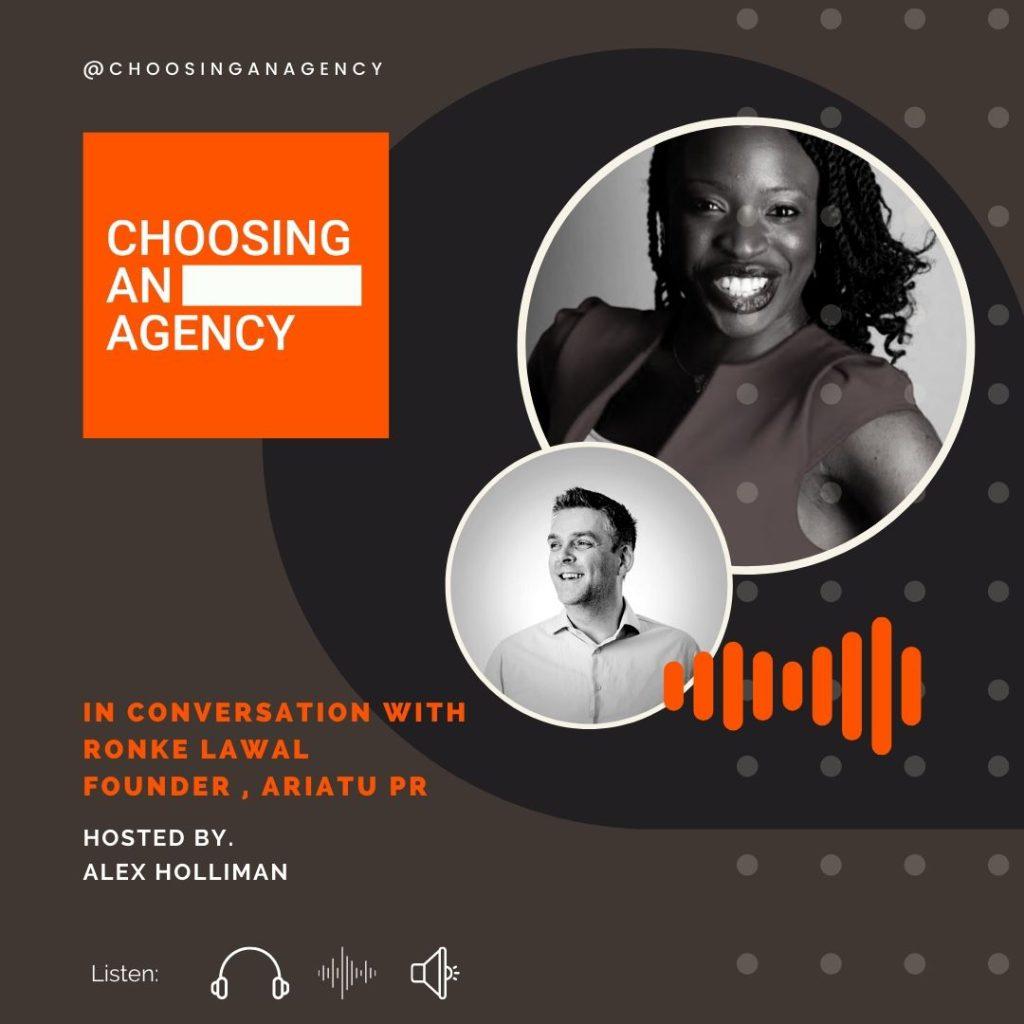 Episode Nine, Choosing an Agency Podcast 2